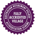Australian Retirement Village - Accreditation Seal