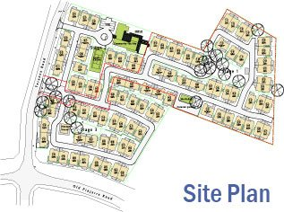 Teranca Mew Retirement Village Mandurah - Site Plan